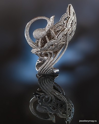 Кольцо «Царевна Лебедь»