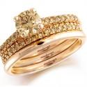 Свадебный тренд: розовое золото