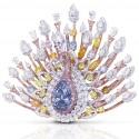 Graff представил бриллиантового павлина стоимостью в $100 миллионов