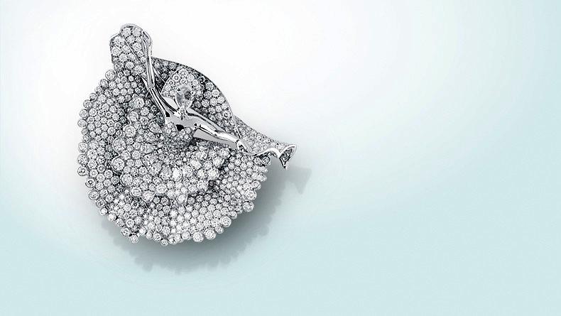 Брошь «Diamond Dancer»