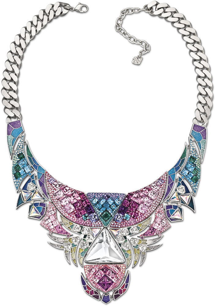 Tropical Paradise Tangara bib necklace