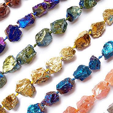 Неограненный алмаз. В моде природные формы