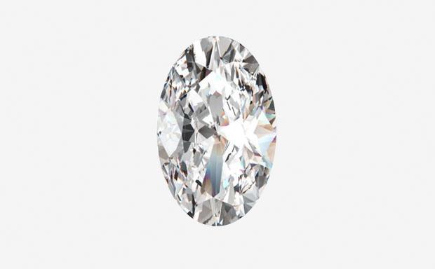 Овальная огранка бриллианта