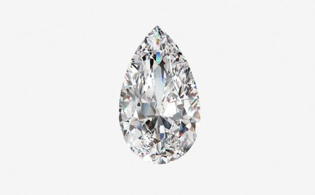 Грушевидная огранка бриллианта