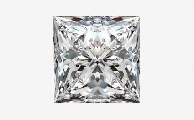 Огранка бриллианта Принцесса