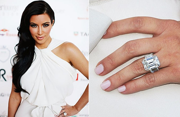 kim-kardashian-engagement-ring-celeb-wedding-jewelry