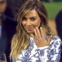 Новое обручальное кольцо Ким Кардашьян