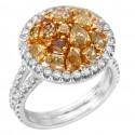 Цветные бриллианты от Almor Designs