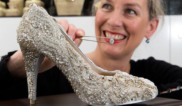 Туфли Сары Хитчингс, проданные за 419 000 долларов