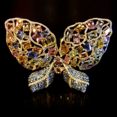 Брошь Spring Butterfly от Top Kang Lapidary & Jewellery Arts (Ammie Kang)