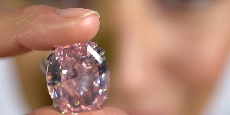 Switzerland Auction Sotheby's Diamond