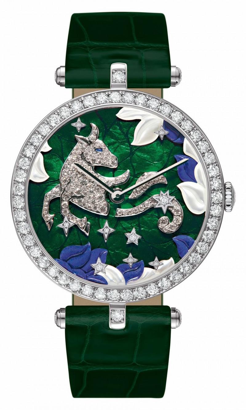 Lady Arpels Zodiac Taurus Extraordinary Dial