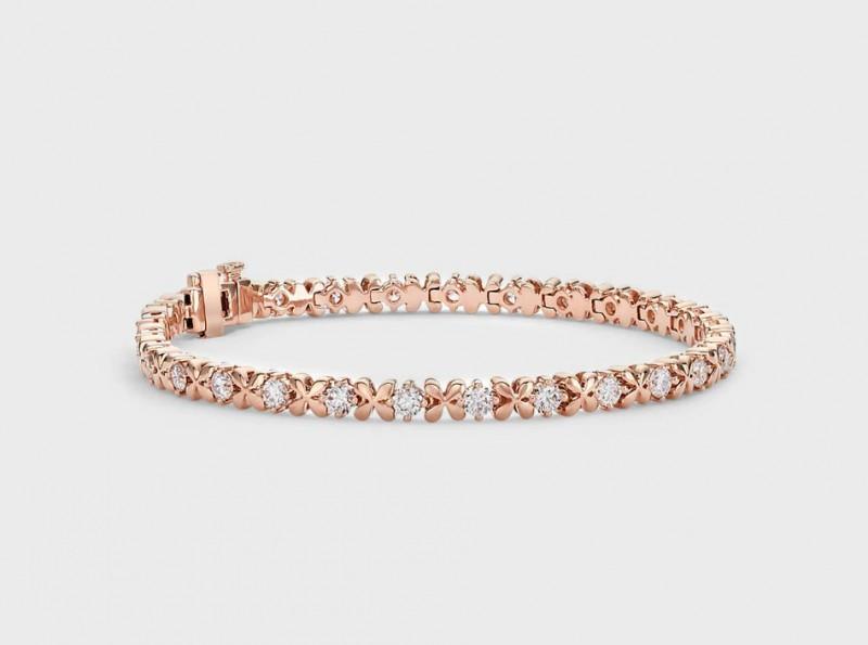 Браслет из розового золота, $5400