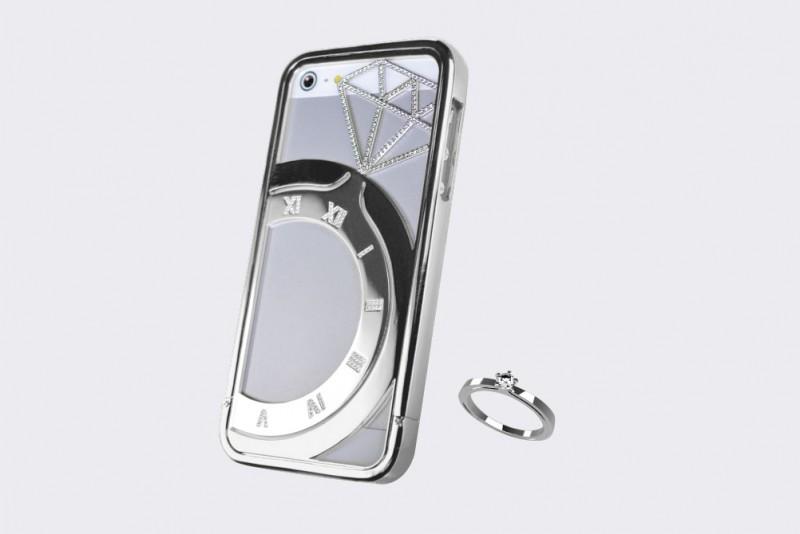iPhone серебряный Koku