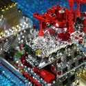 Скульптуры LEGO с кристаллами Swarovski от Cimon