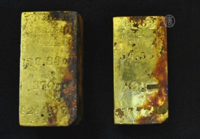 1_Gold from sunken ship