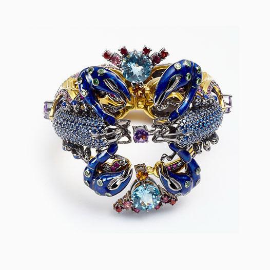 Jeweled Garden — первая ювелирная коллекция от Atelier ...