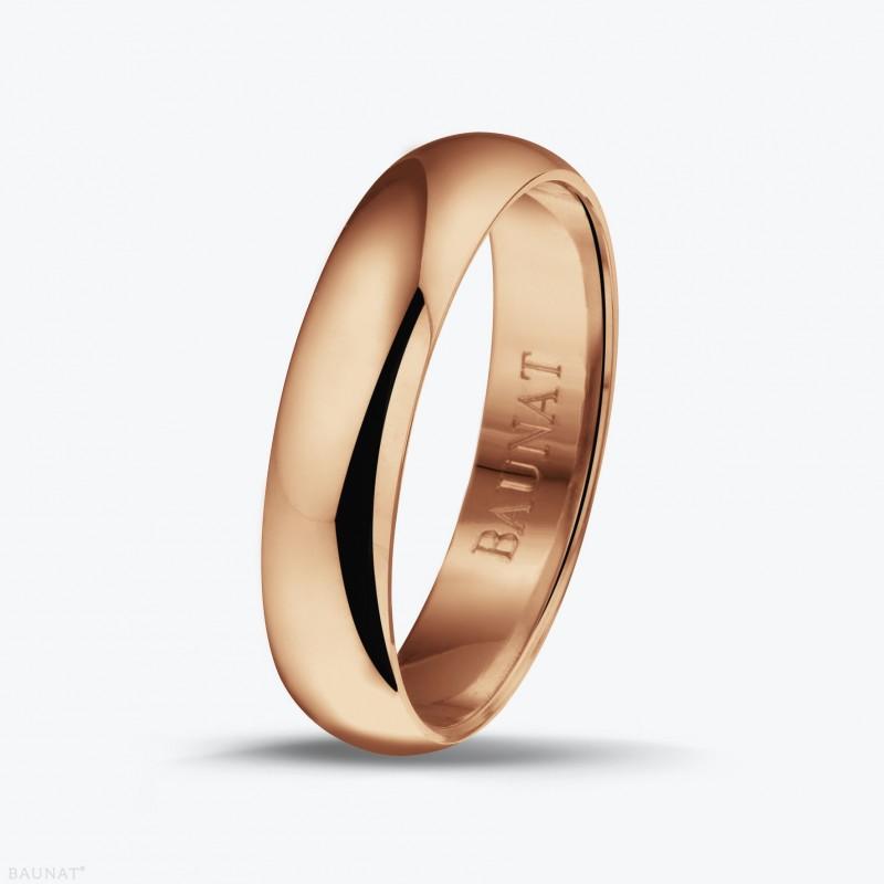 Кольцо Baunat из красного золота.