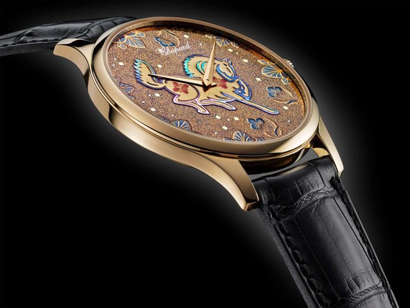 Часы Chopard, посвященные году лошади, носящие название LUC XP Urushi