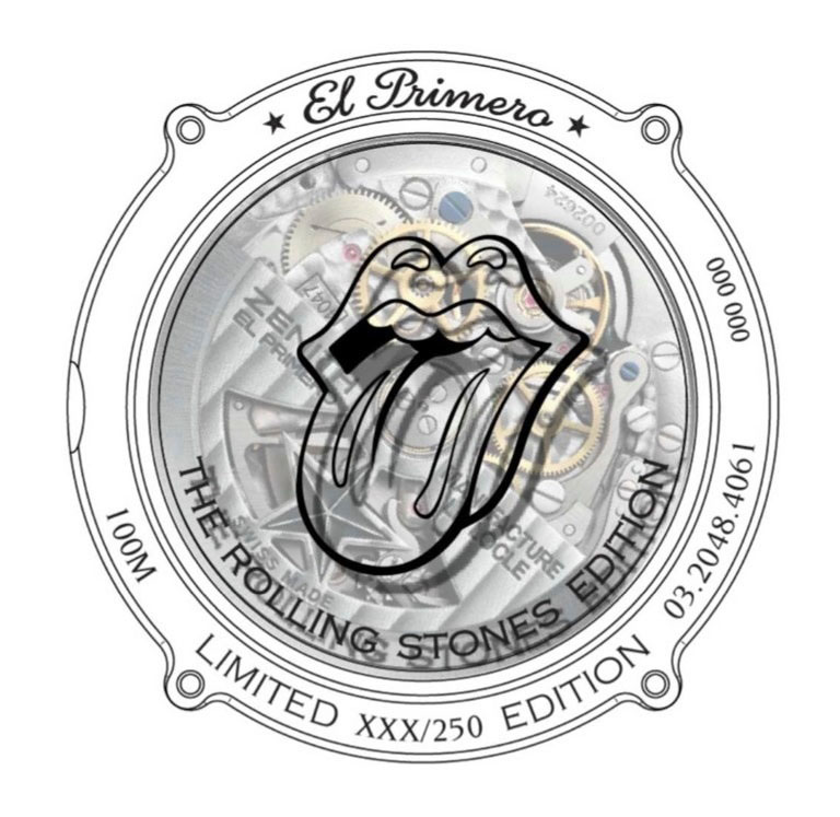 El Primero Chronomaster 1969 Rolling Stones Edition