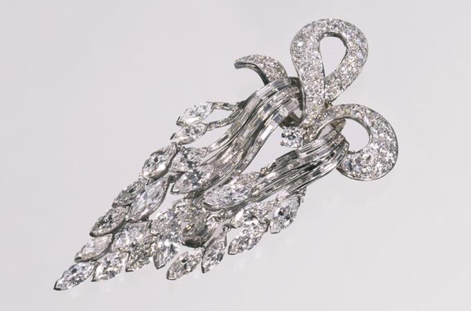 Брошь Cartier из Коллекции Марджери Мерриуэзер Пост