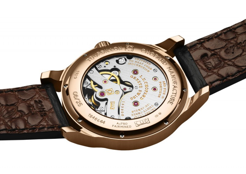 Часы Chopard LUC Tourbillon Qualité Fleurier Fairmined