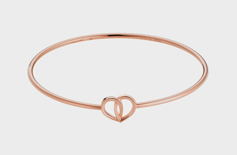 2_Montblanc_Emblem_Coeur_de_Petales_Entrelaces_bangle_in_pink_gold