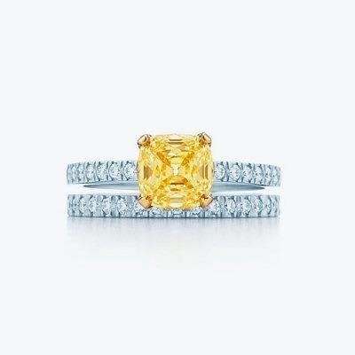 3_Yellow Diamond Ring_ Tiffany