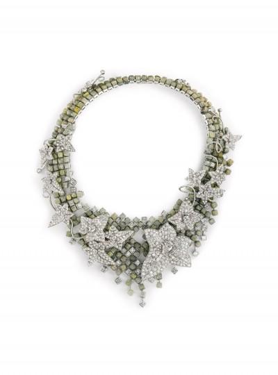 Колье с бриллиантами Lierre de Paris