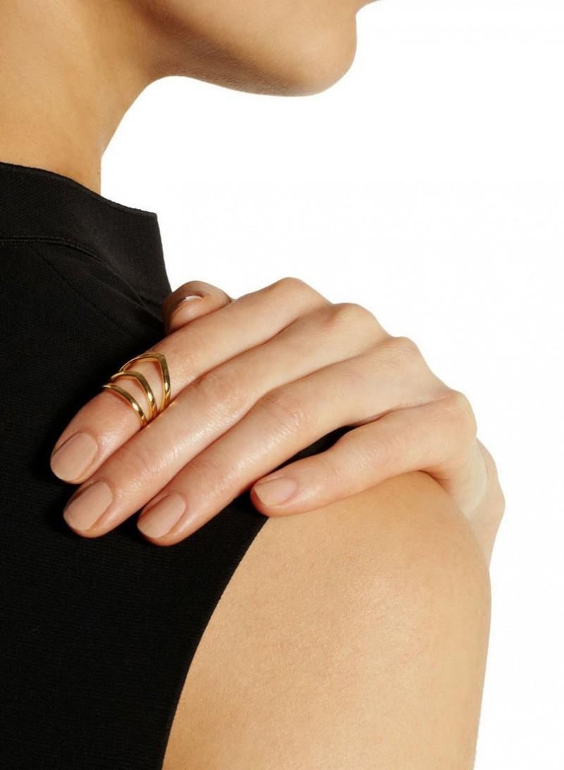 Фаланговое кольцо от Arme De L'Amour.