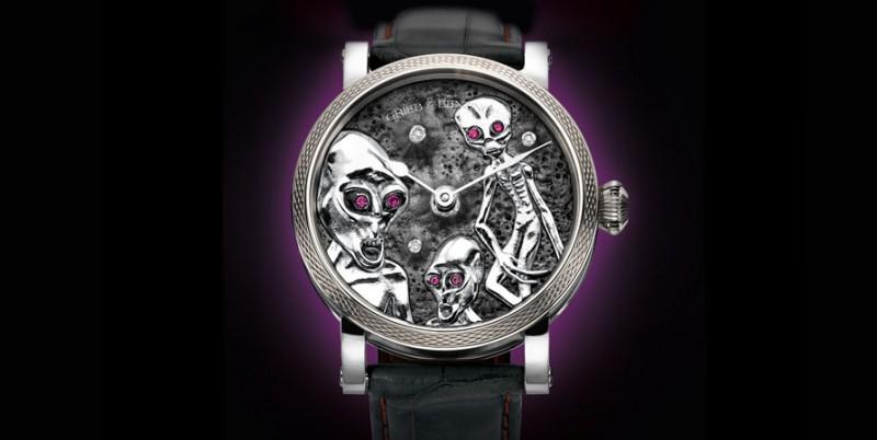 Часы Grieb & Benzinger, созданные на заказ в стиле «Зоны 51»