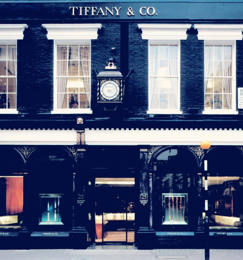 Магазин Tiffany