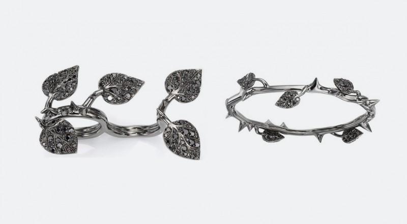 Кольцо и браслет из коллекции, посвященной фильму «Малефистента»