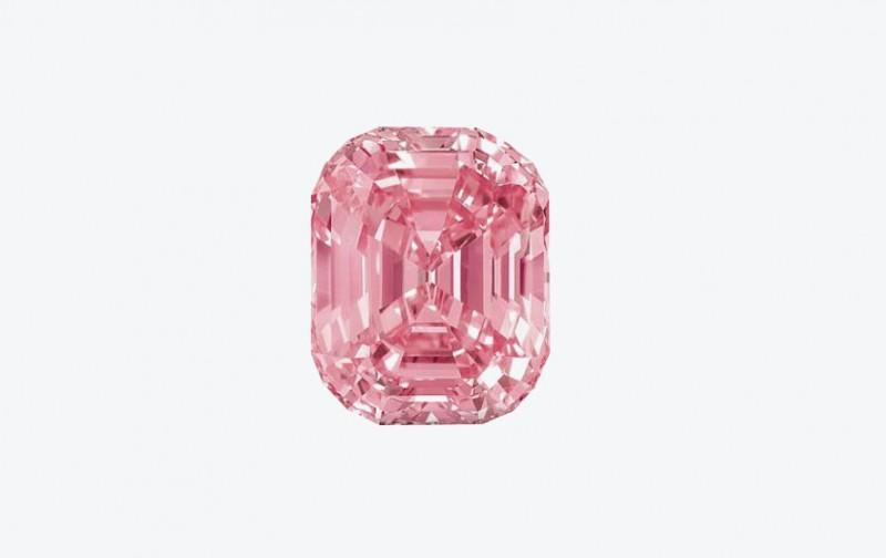 Розовый бриллиант Graff Pink весом 24,78 карата
