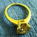 Бриллиантовое кольцо на благотворительном аукционе