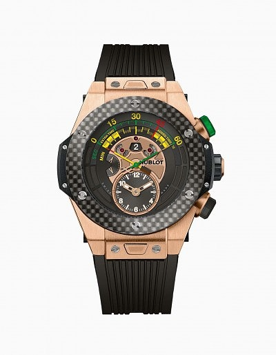 Часы Big Bang Unico Bi-Retrograde Chrono в цвете King Gold