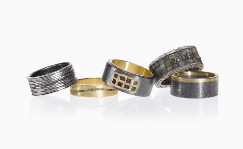 Кольца из новой мужской коллекции Тодда Рида