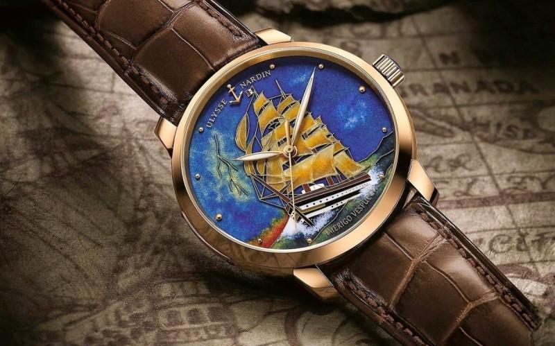 Часы Amerigo Vespucci от Ulysse Nardin.