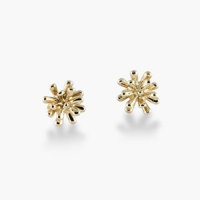 Серьги-фейерверки из 14-каратного золота из новой коллекии Zina Sterling