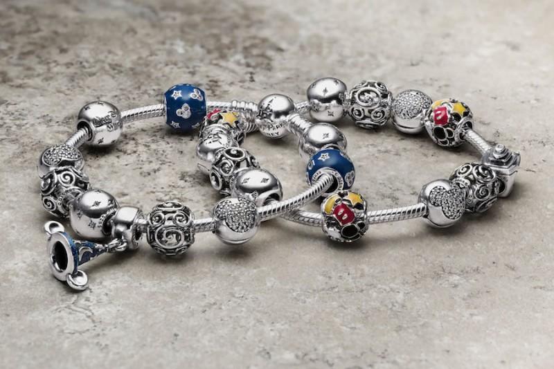 Чармы Pandora, созданные в содружестве с компанией Disney