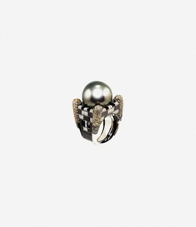 Кольцо с крупной жемчужиной от Aspire Designs Ltd