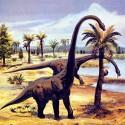 Следы динозавров в алмазной шахте