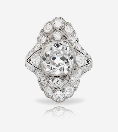 Кольцо One Mine с бриллиантами от Neli Gems Corp