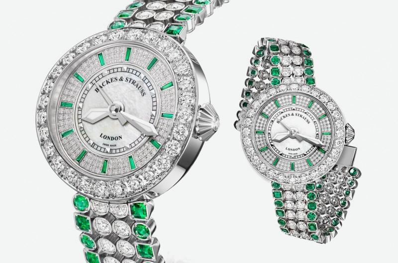 Часы Harrods Princess от Backes & Strauss и Gemfields