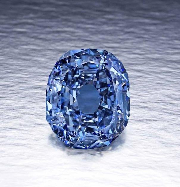 10-каратный синий бриллиант-рекордсмен — Jewellery Mag 82252f2b1c1
