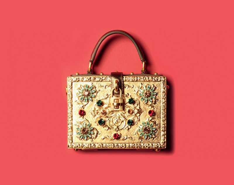 dolce and gabbana_golden bag