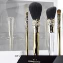 Sephora и Alexis Bittar: золотые кисти для макияжа с кристаллами Swarovski