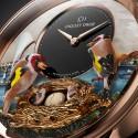 Живые часы Jaquet Droz Bird Repeater Geneva