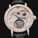 Diamond MasterGraff Grand Date Dual Time Tourbillon