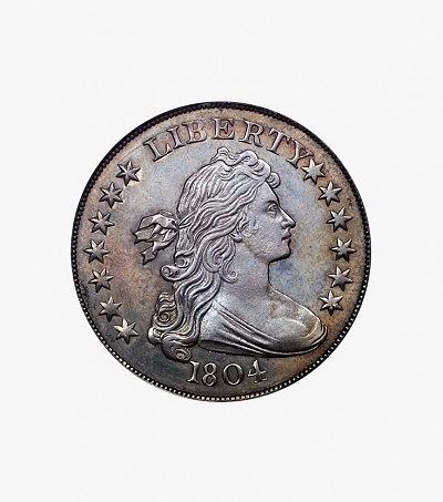 Серебряный доллар 1804 года («Король Американских монет»)